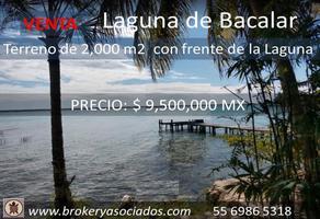 Foto de terreno comercial en venta en costera , bacalar, bacalar, quintana roo, 18032525 No. 01