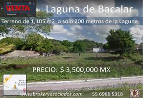 Foto de terreno comercial en venta en costera , bacalar, bacalar, quintana roo, 18539210 No. 01