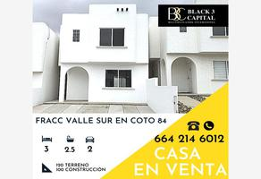 Foto de casa en venta en coto 84 00, valle sur, tijuana, baja california, 0 No. 01