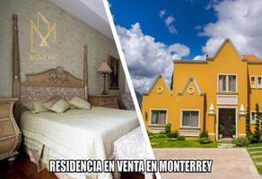 Foto de casa en renta en  , country la escondida, guadalupe, nuevo león, 15739839 No. 01