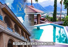 Foto de casa en venta en  , country la escondida, guadalupe, nuevo león, 16633517 No. 01