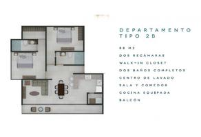 Foto de departamento en venta en  , cozumel centro, cozumel, quintana roo, 17044411 No. 01