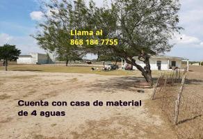 Foto de rancho en venta en curva santa teresa , santa teresa, san fernando, tamaulipas, 12014586 No. 01