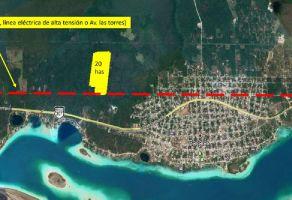 Foto de terreno habitacional en venta en Bacalar, Bacalar, Quintana Roo, 16385606,  no 01