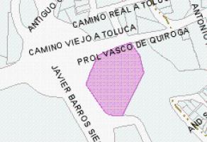Foto de terreno comercial en venta en Lomas de Santa Fe, Álvaro Obregón, DF / CDMX, 12410965,  no 01