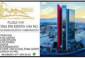 Foto de oficina en renta en Jardines del Moral, León, Guanajuato, 22066899,  no 01