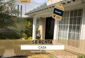 Foto de casa en renta en david reynoso , la favorita, celaya, guanajuato, 0 No. 01