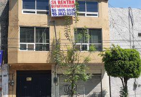 Foto de departamento en renta en Los Reyes Ixtacala 2da. Sección, Tlalnepantla de Baz, México, 20567521,  no 01