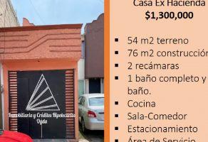 Foto de casa en venta en Ex-Hacienda San Felipe 1a. Sección, Coacalco de Berriozábal, México, 20552305,  no 01