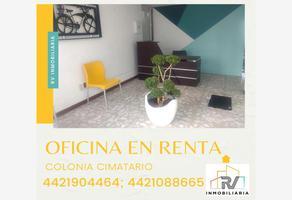 Foto de oficina en renta en de las casas , cimatario, querétaro, querétaro, 15828914 No. 01