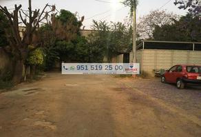Foto de terreno habitacional en venta en de rio papaloapam , santa rosa panzacola, oaxaca de juárez, oaxaca, 12760568 No. 01