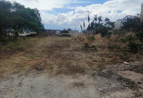 Foto de terreno habitacional en venta en del valle 1, san jerónimo caleras, puebla, puebla, 0 No. 01