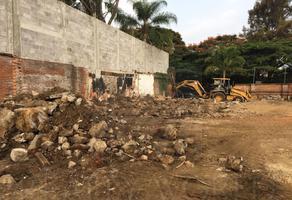 Foto de terreno habitacional en venta en  , delicias, cuernavaca, morelos, 6504377 No. 01