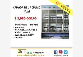 Foto de departamento en venta en departamento en venta flat, cañada del refugio, león, guanajuato, 18750401 No. 01