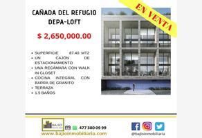 Foto de departamento en venta en departamentos en venta loft, cañada del refugio, león, guanajuato, 18736253 No. 01