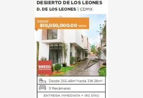 Foto de casa en venta en desierto de los leones 1, olivar de los padres, álvaro obregón, df / cdmx, 0 No. 01
