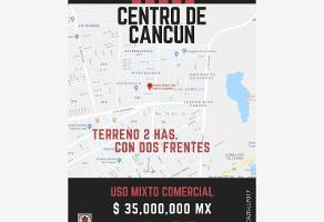 Foto de terreno comercial en venta en diagonal tulum y calle 110 , cancún centro, benito juárez, quintana roo, 12072052 No. 01