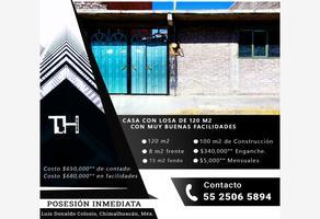 Foto de casa en venta en diana laura 23, luis donaldo colosio, chimalhuacán, méxico, 0 No. 01