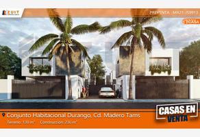 Foto de casa en venta en durango 000, unidad nacional, ciudad madero, tamaulipas, 0 No. 01