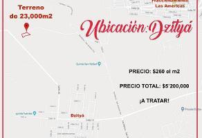 Foto de terreno comercial en venta en  , dzitya, mérida, yucatán, 11724848 No. 01