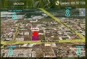 Foto de terreno habitacional en renta en  , dzitya, mérida, yucatán, 14610069 No. 01