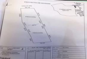 Foto de terreno comercial en venta en  , dzitya, mérida, yucatán, 18388899 No. 01