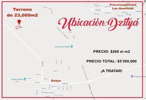 Foto de terreno comercial en venta en  , dzitya, mérida, yucatán, 18484549 No. 01