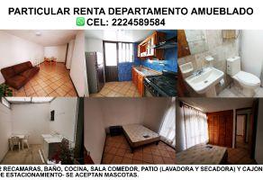 Foto de departamento en renta en Santiago Xicohtenco, San Andrés Cholula, Puebla, 22226990,  no 01