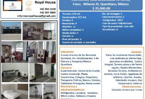 Foto de casa en renta en Milenio III Fase A, Querétaro, Querétaro, 14705536,  no 01