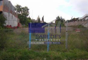 Foto de terreno habitacional en venta en Vista Bella, Morelia, Michoacán de Ocampo, 21938937,  no 01