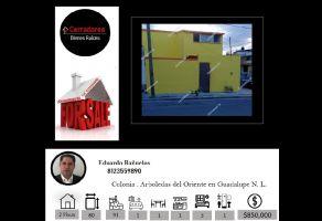Foto de casa en venta en Arboledas del Oriente, Guadalupe, Nuevo León, 21779123,  no 01