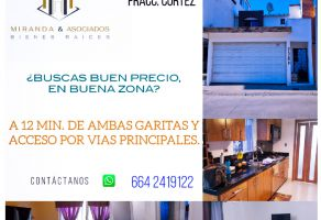 Foto de casa en venta en Balcón Las Huertas, Tijuana, Baja California, 20346522,  no 01