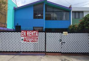 Foto de casa en renta en echegaray 60, chapultepec sur, morelia, michoacán de ocampo, 0 No. 01