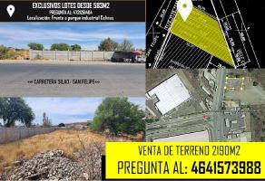 Foto de terreno industrial en venta en Sopeña, Silao, Guanajuato, 20491578,  no 01