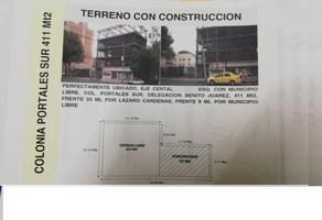 Foto de terreno comercial en venta en eje central 320, portales sur, benito juárez, df / cdmx, 0 No. 01