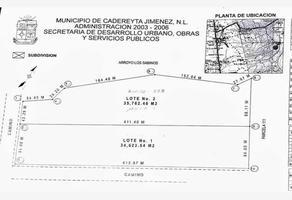 Foto de terreno habitacional en venta en ejido la esperanza , la esperanza, cadereyta jiménez, nuevo león, 18524331 No. 01
