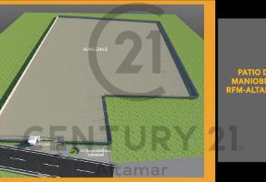 Foto de terreno habitacional en renta en  , ejido ricardo flores magón, altamira, tamaulipas, 13687417 No. 01