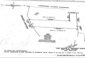 Foto de terreno habitacional en venta en ejido zaragoza fraccion 11 y 11-a de la parcela 18 , ampliación aeropuerto, juárez, chihuahua, 18621493 No. 01