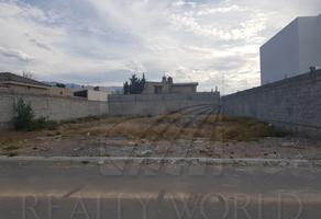 Foto de terreno habitacional en venta en  , el campanario, saltillo, coahuila de zaragoza, 12070061 No. 01