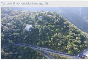 Foto de terreno comercial en venta en el hondeable , santiago centro, santiago, nuevo león, 13370857 No. 01