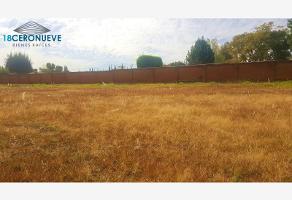 Foto de terreno habitacional en venta en el lucero , del bosque, san pedro cholula, puebla, 0 No. 01