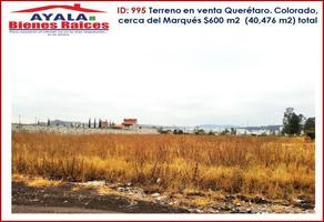 Foto de terreno industrial en venta en  , el marqués, querétaro, querétaro, 15974481 No. 01