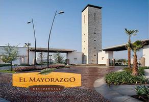 Foto de terreno habitacional en venta en el mayorazgo , el mayorazgo, león, guanajuato, 18887978 No. 01