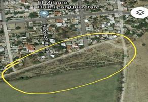 Foto de terreno habitacional en venta en el milagro , el milagro, huimilpan, querétaro, 19420251 No. 01
