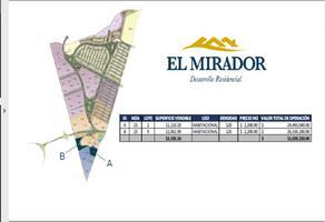 Foto de terreno habitacional en venta en el mirador , el marqués, querétaro, querétaro, 0 No. 01