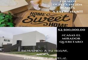 Foto de casa en venta en  , el mirador, querétaro, querétaro, 15126626 No. 01