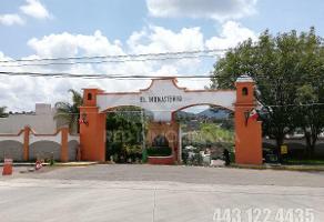 Foto de terreno habitacional en venta en  , el monasterio, morelia, michoacán de ocampo, 13805697 No. 01