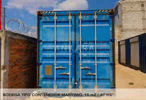 Foto de nave industrial en renta en  , el pueblito centro, corregidora, querétaro, 13866866 No. 01