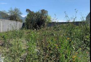 Foto de terreno habitacional en venta en  , el ranchito, santiago, nuevo león, 14566894 No. 01