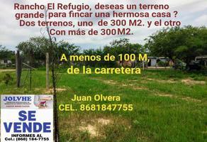 Foto de terreno habitacional en venta en  , el refugio (ejido), matamoros, tamaulipas, 0 No. 01